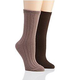 H Halston Ultra Soft Boot Sock - 2 Pack HTFS807