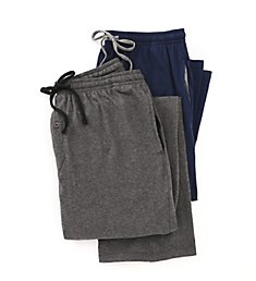 Hanes Classics 100% Cotton Knit Pant - 2 Pack 4047