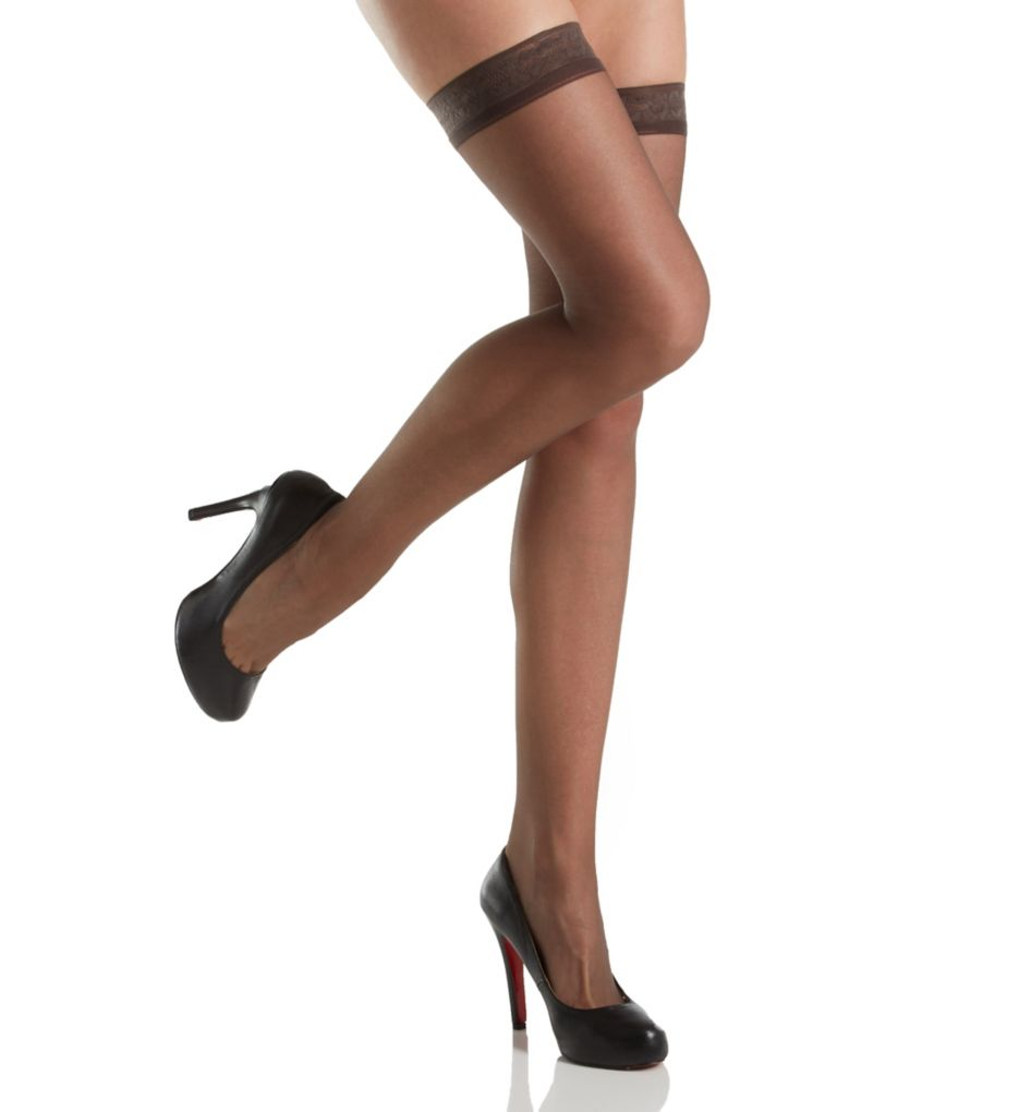 Hanes Silk Reflections Silky Thigh Highs 720