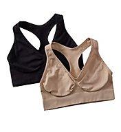 Hanes Comfy Support Live Love Comfort Bra - 2 Pack HUT1