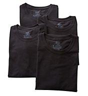 Hanes Stretch Crew T-Shirts - 4 Pack U9T1B4
