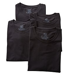 Hanes Stretch Crew T-Shirts - 4 Pack U9T1B4