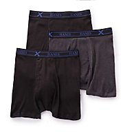 Hanes Ultimate X-Temp Boxer Briefs - 3 Pack UXBSB3