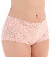 Hanky Panky Signature Lace Plus Wide Band Boyshort Panty 481281X