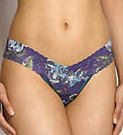 Hanky Panky Low Rise Pattern Thongs 4911PTN