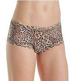 Hanky Panky Leopard Nouveau Boyshort Panty 4X1281