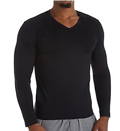 HOM Classic Long Sleeve V-Neck T-Shirt 401088