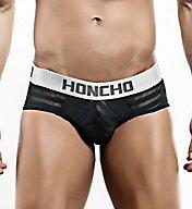Honcho Mesh Striped Bikini Brief HOJ002