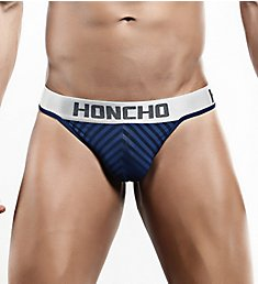 Honcho Striped Slip Thong HOK002