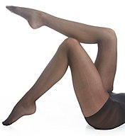 Hue Herringbone Sheer Tights with Control Top U16236