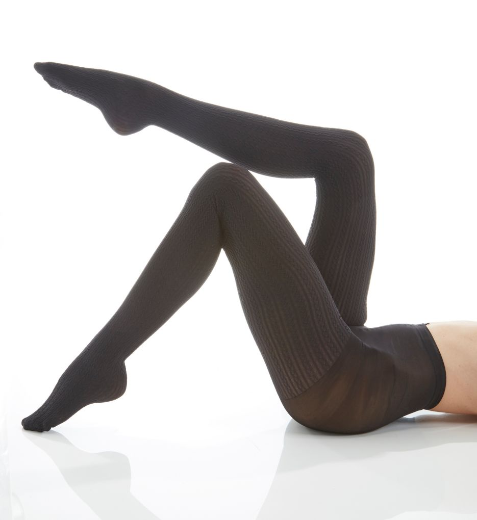 Hue Cable Tights with Control Top U16779