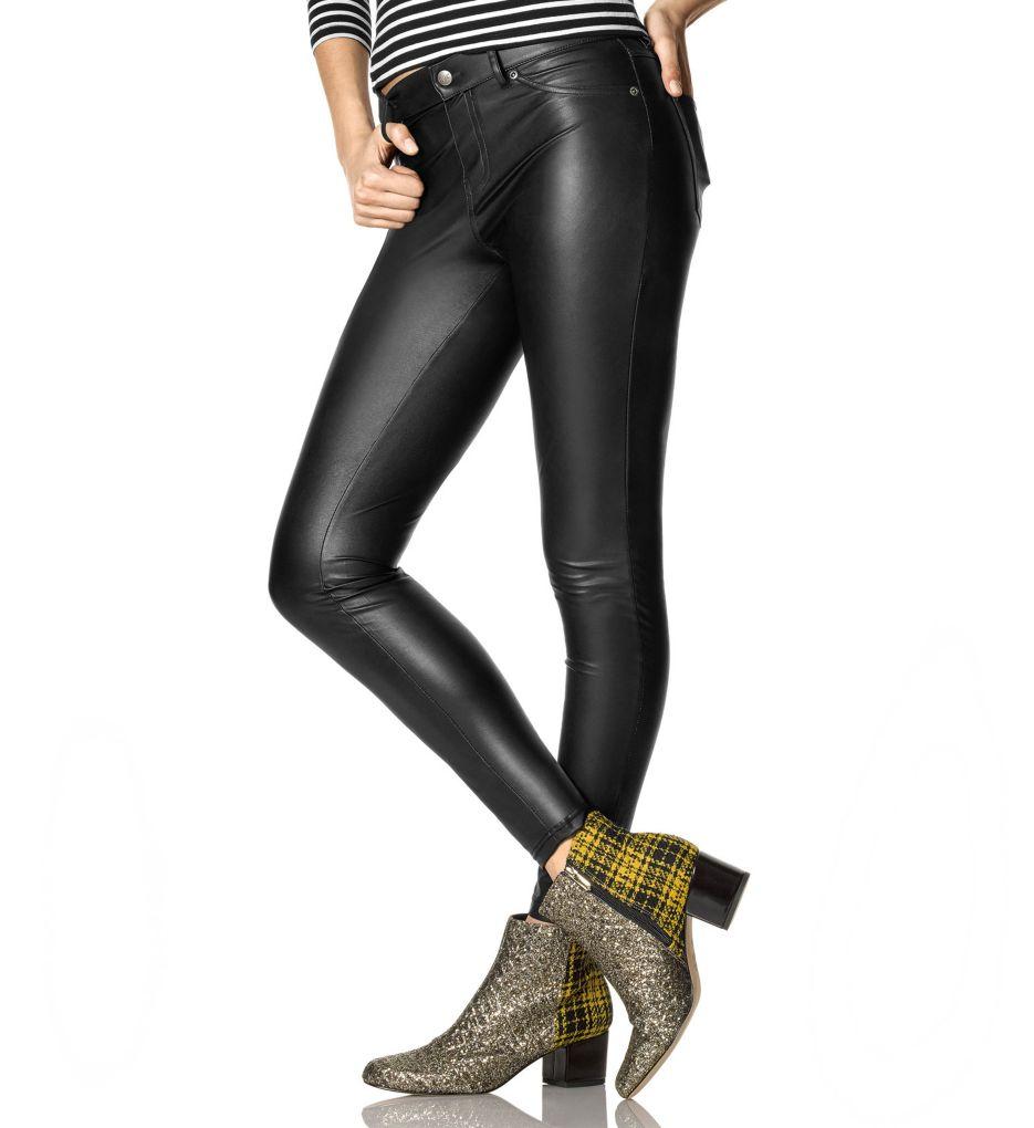 Hue Leatherette Leggings U16798