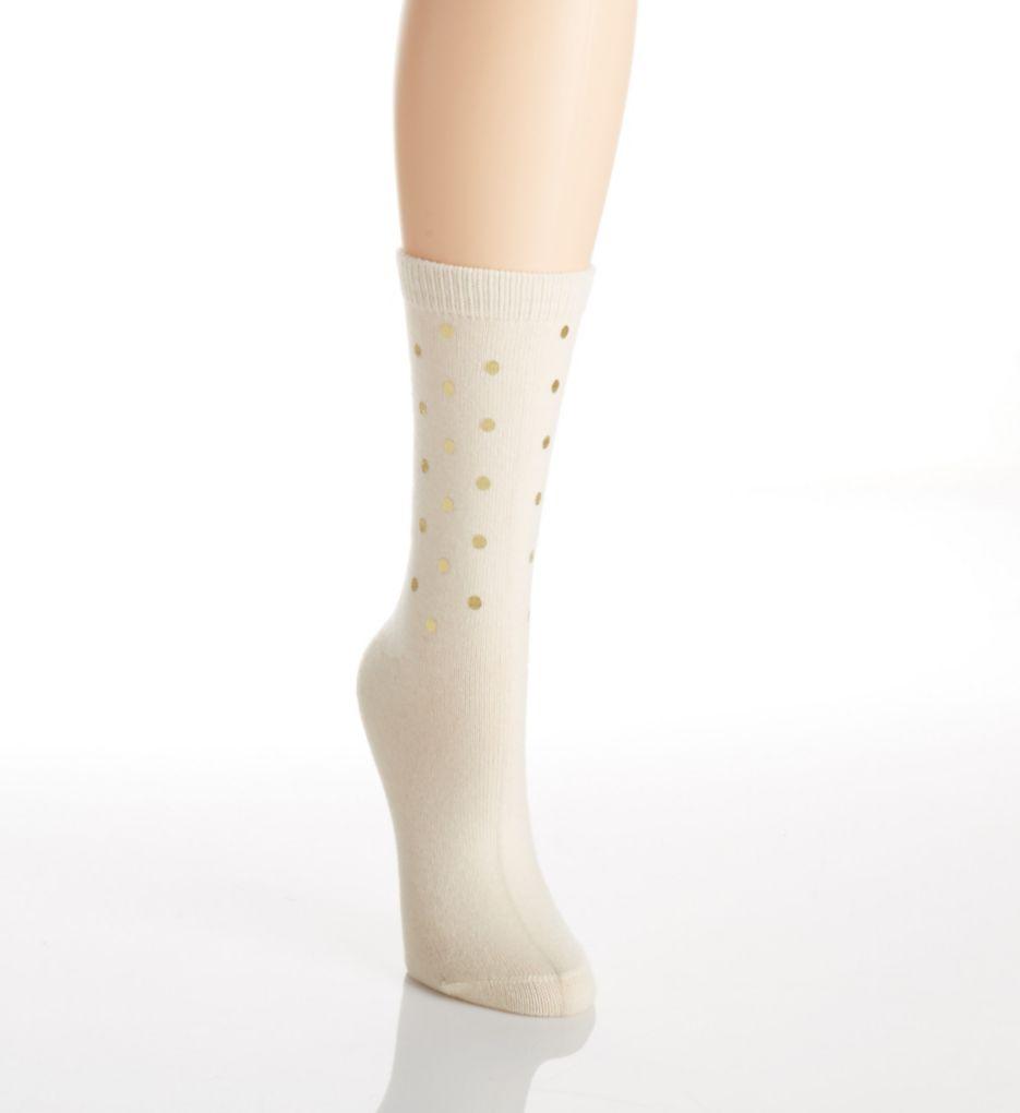 Hue Luxe Foil Sequin Sock U17185