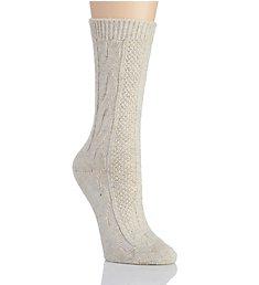 Hue Cable Boot Sock U19467