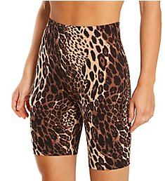 Hue Wavy Leopard Cotton Bike Shorts U22725