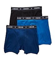 Izod Men's Knit Boxer Briefs - 3 Pack 171PB11