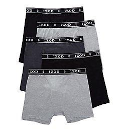 Izod Cotton Boxer Briefs - 5 Pack 183PB13