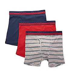 Izod Cotton Boxer Briefs - 3 Pack 201PB10