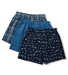 Izod Woven Boxers - 3 Pack 203WB15