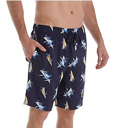 Izod Printed Rayon Woven Sleep Short 5000WR