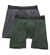 Jockey Sport Outdoor Midway Boxer Briefs - 2 Pack 8151