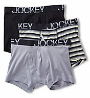 Jockey Low Rise Cotton Stretch Boxer Brief - 3 Pack 8485