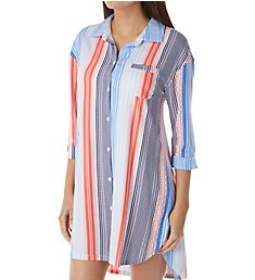 Jockey Sleepwear Hello Weekend 3/4 Sleeve Sleepshirt JK91521