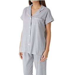 Jockey Sleepwear Love that Lasts Notch Collar PJ Set JK91525