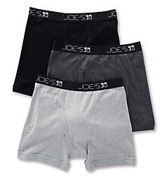 JOE's Jeans Underwear Premium Combed Cotton Boxer Briefs - 3 Pack 64113