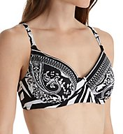 La Blanca Sevilla Scarf Underwire Bikini Swim Top B7AT02X