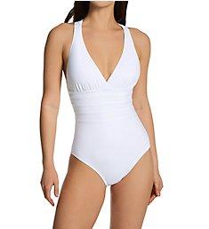 La Blanca Island Goddess Multi Strap Mio One Piece Swimsuit LB0IG22