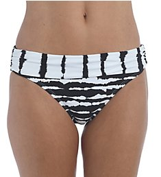 La Blanca Elemental Balance Shirred Band Hipster Swim Bottom LB1JE95