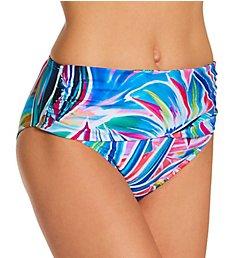 La Blanca Palm Opulence Sash Mid Waist Swim Bottom LB1JJ97