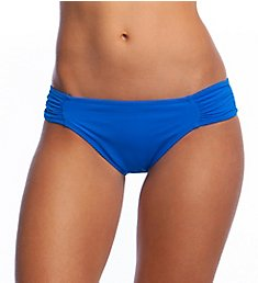 La Blanca Island Side Shirred Hipster Swim Bottom LB6BA96