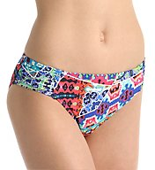 La Blanca Barbados Side Shirred Hipster Swim Bottom LB6BC96