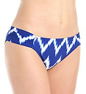 La Blanca Night Waves Side Shirred Hipster Swim Bottom LB6BF96