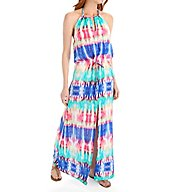 La Blanca Island Antigua Cover Up Slit Maxi Dress LB6BP38