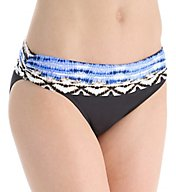 La Blanca Animale Instinct Shirred Band Hipster Swim Bottom LB6HB95