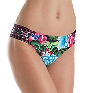 La Blanca Flora Garden Side Shirred Hipster Swim Bottom LB71E96