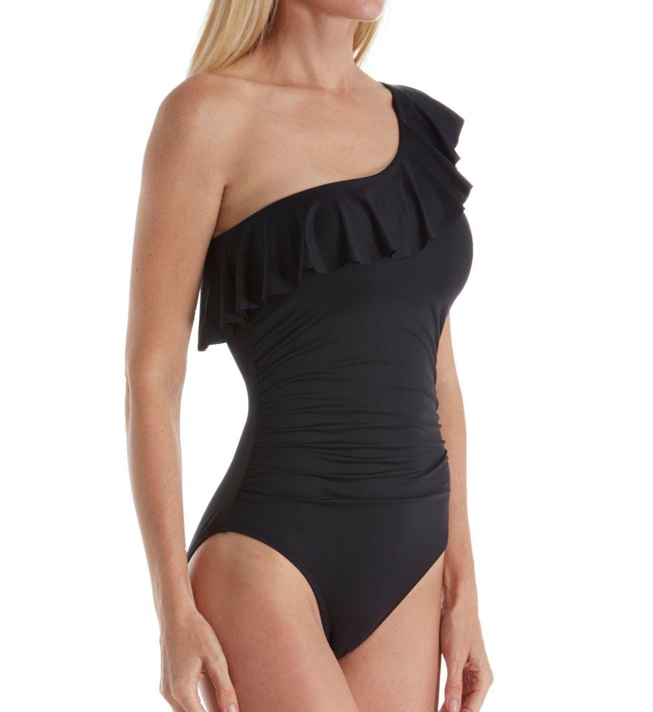 La Blanca Flirtatious One Shoulder One Piece Swimsuit LB71W10