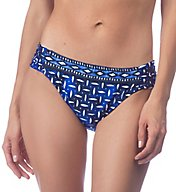 La Blanca Daily Grind Side Shirred Hipster Brief Swim Bottom LB7BF96