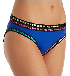 La Blanca Threading Along Hipster Brief Swim Bottom LB7BT93