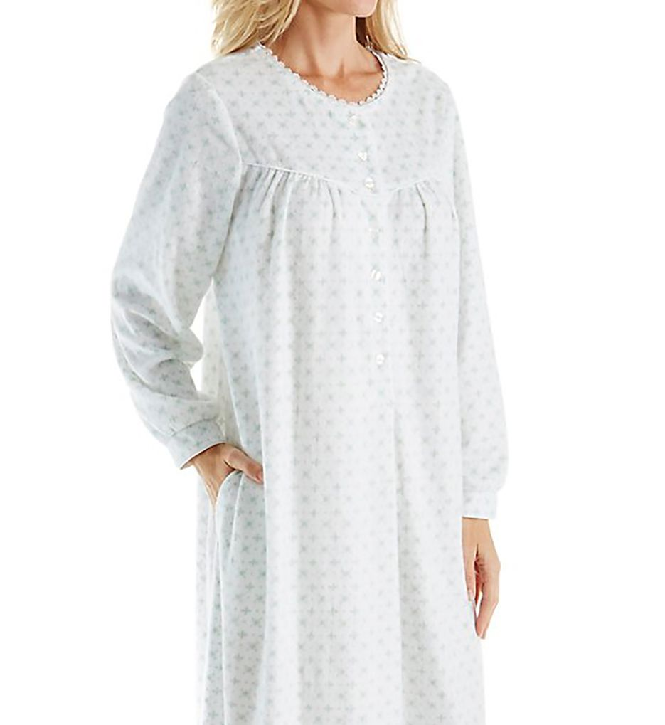 Lanz of Salzburg Microfleece Long Gown 5216825