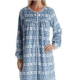 Lanz of Salzburg Microfleece Long Sleeve Gown 5216829
