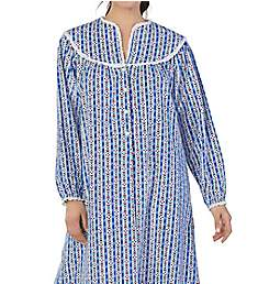 Lanz of Salzburg Long Sleeve Flannel Gown 5416833