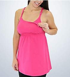 Leading Lady Lace Back Nursing Camisole 4049
