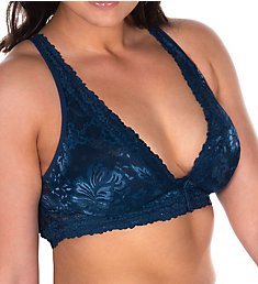 Leading Lady Lace Wirefree Front Closure Bralette 5071