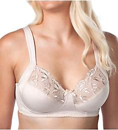 Leading Lady Dreamy Comfort Wirefree Half Cup Lace Bra 5204