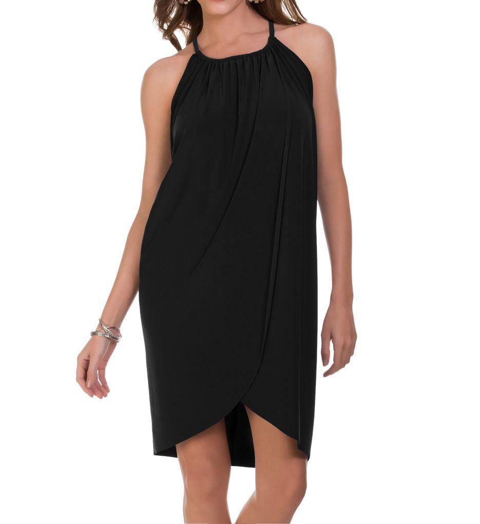 MagicSuit Draped Cover Up Dress 6000108
