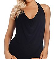 MagicSuit Behind Bars Underwire Tankini Swim Top 6000143